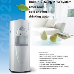 Vízadagoló RO víztisztító szűrővel, nyomásfokozóval