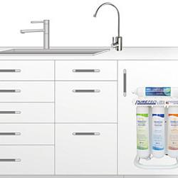 PurePro ERS105P RO víztisztító nyomásfokozóval