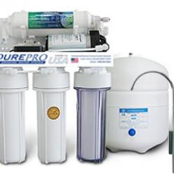 PurePro EC105P RO víztisztító nyomásfokozóval
